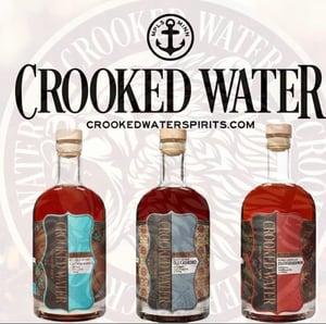 Crooked Water Spirits Vodka Gin Bourbon Brandy