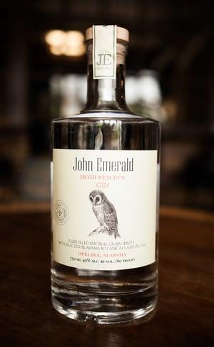 John Emerald Hugh Wesley's Gin