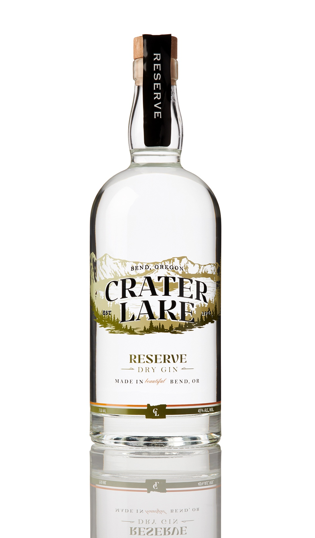 Crater Lake Prohibition Gin