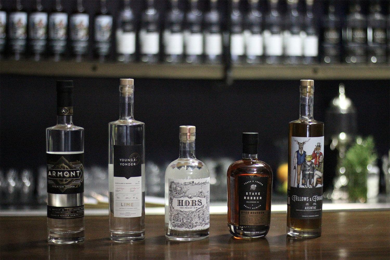 Young & Yonder Vodka Gin Bourbon Absinthe
